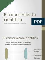 El Conocimiento Científico (Recopilado)