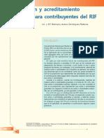 Causación y Acreditamiento Del IVA Para Contribuyentes Del RIF