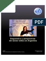 Diagnóstico y Perspectivas Sector Eólico Argentina - 2012