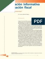 Declaración Informativa de Situación Fiscal. Quiénes La Presentan