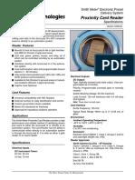 Proximity Card Reader -ss 06044
