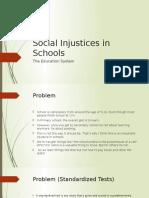 social injustices - spanish
