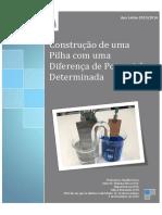 Atividade de Projeto Laboratorial Relatório-