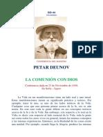 Deunov_la Comunion Con Dios