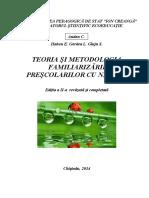 Teoria Si Metodologia Familiarizarii Prescolarilor Cu Natura - Andon, Ginju...