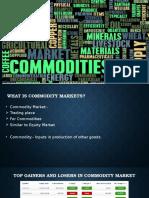 Commodity Markets (1)