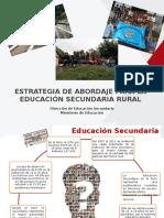 Ppt Secundaria Rural