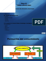 Metodología de La Investigación Clase 01