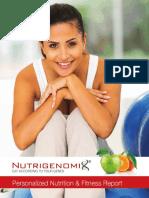Nutrigenomix 45 Gene Test Results