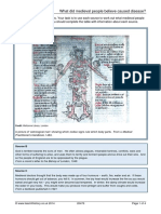 What Did Medieval People Believe Caused Disease Teachithistory.co.Uk