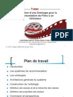 Création d une ontologie de recommandation de film
