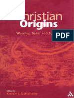 (Library of New Testament Studies) Kieran J. O'Mahony & Milltown Institute of Theology & Philosophy-Christian Origins_ Worship, Belief and Society-Bloomsbury Academic
