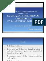 Evaluación Del Riesgo Crediticio