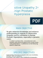 Obstructive Uropathy secondary to Benign Prostatic Hyperplasia.pptx