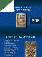 Literatura Durante La Edad Media