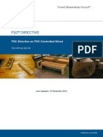 FSC-DIR-40-005 en FSC Directive on FSC Controlled Wood