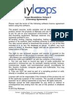 Myloops Licensing Agreement (Myloops Revelations Volume 5)