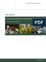FSC-POL-01-004 V2-0 en Policy for Association