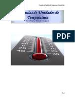 Fórmulas de Conversión de Unidades de Temperatura