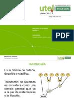 Taxonomía unidad 2