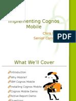 Cognos Mobile