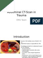 Abdominal CT