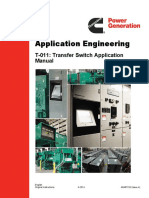 Transfer Switch Application and Selection Manual