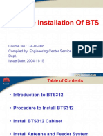 2 Hardware Installation of BTS