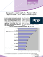 Eurostat - Statistics in focus 36/2008 - Comparative price levels for the Western Balkan region for 2006 - actual individual consumption