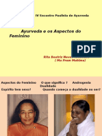 Ayurveda e Os Aspectos Do Feminino