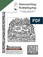 9b316485c8 Pathfinder Rpg Ogl - Rewarding Roleplaying