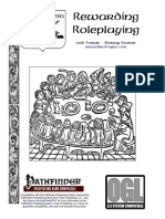 32e9ca359e2 Pathfinder Rpg Ogl - Rewarding Roleplaying