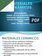 MATERIALES CERÃ-MICOS