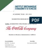Analys Strategie Marketing Coca Cola