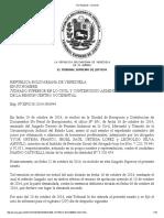 TSJ Regiones - Decisión Nando Cativelli