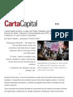 Os Protestos de Junho Entre o Processo e o Resultado — CartaCapital
