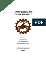 contoh makalah business plan bengkel motor