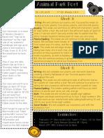 Newsletter Q3 Weeks 3 + 4