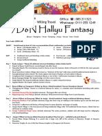 Korea S7KPO-AK 7D6N Hallyu Fantasy