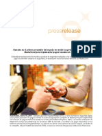 Gemalto es el primer proveedor del mundo en recibir la aprobación completa de MasterCard para implementar pagos basados en la nube.docx