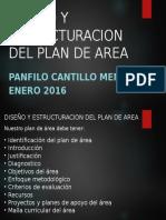 Diseño y Estructuracion Del Plan de Area
