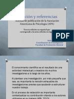 Citacion y Referencias APA 2015