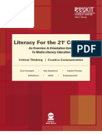 Digital-Media Literacy Framework-For 21stcentury