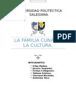 La Familia Cuna de La Cultura