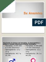 Sx Anemico