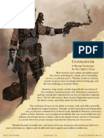 5e Gunslinger Martial Archetype for Fighters