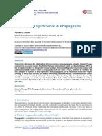 Climatic Change Science & Propaganda