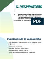 28.- Estructura y Mecánica Sistema respiratorio