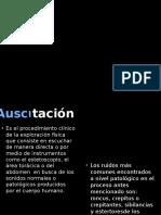 2.- Auscultacion y Ruidos Cardiacosa Normales y Patologicos