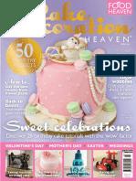 Cake Decoration Heaven - Spring 2015 UK
